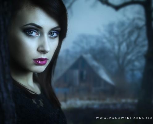 Estera portret Arkadiusz Makowski