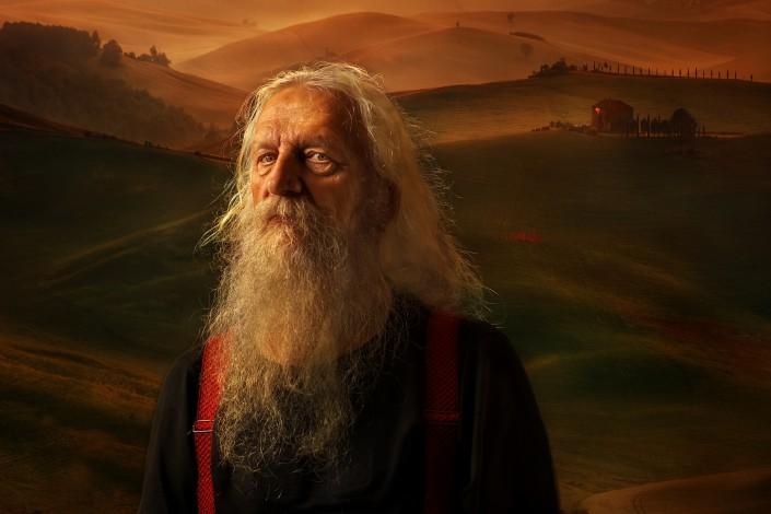 Daniel Zagórski portret Arkadiusz Makowski