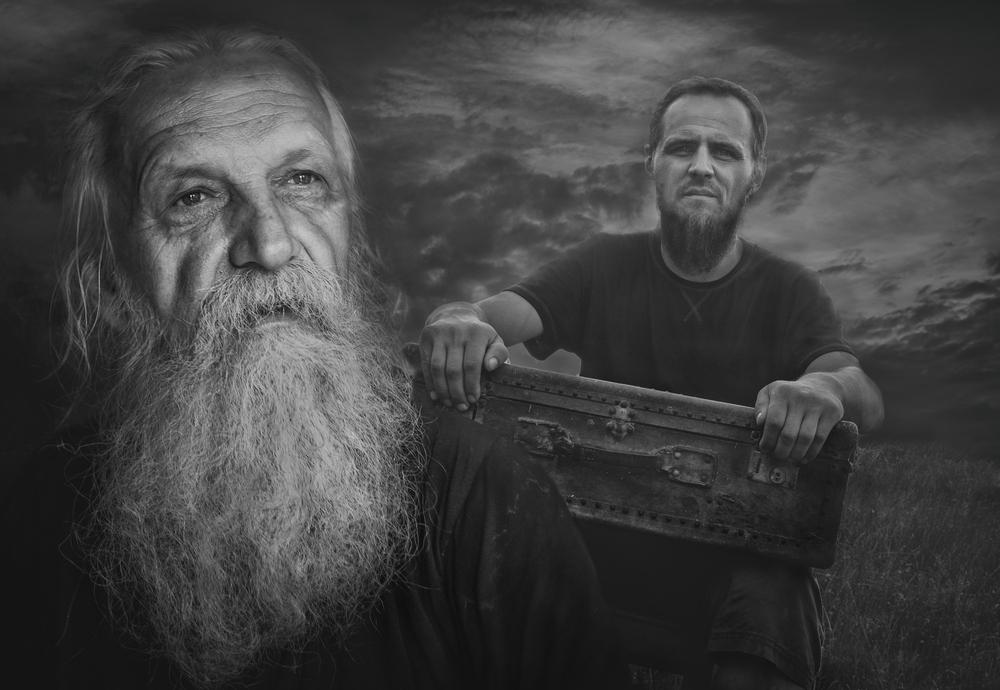 Daniel Zagórski i Arkadiusz Makowski Ojców
